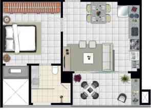 Apartamento, 1 Quarto, 1 Vaga, 1 Suite para alugar em Av.olinda, Setor Marista, Goiânia, GO valor de R$ 1.500,00 no Lugar Certo