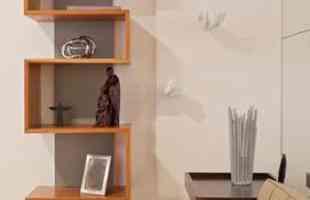 Projeto da arquiteta Luciana Andrade em BH  prioriza soluções para ampliar espaços pequenos. A profissional lança mão de ambientes integrados, móveis multiuso e perspectiva no olhar para criar um imóvel totalmente funcional