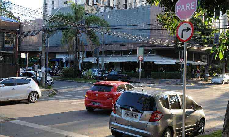 Rua Professor José Renault: bairro tem vias tranquilas e limpas - MARCOS VIEIRA/EM/D.A PRESS-15/3/14