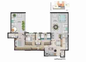 Apartamento, 3 Quartos, 2 Vagas, 3 Suites em : Rua Bernardo Guimarães, Funcionários, Belo Horizonte, MG valor de R$ 1.308.100,00 no Lugar Certo