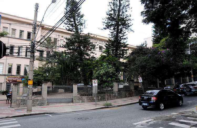 Colégio Marista: crescimento da escola acompanhou valorização da vizinhança - Cristina Horta/EM/D.A Press