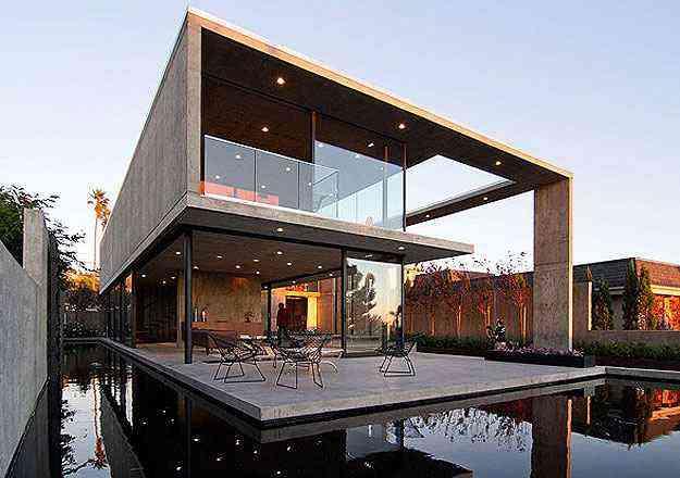 Esta casa na Califórnia, EUA, também compete diretamente com o projeto de Itaipava - Architizer A  Awards/Divulgação