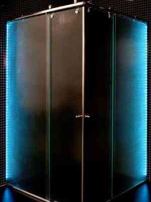 Iluminação da luz de LED é uma das novidades para destacar o espaço - Ideia Glass/Divulgação