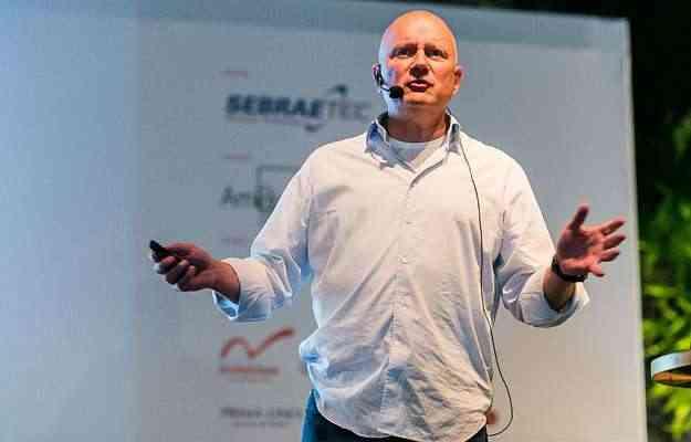 Morten Georgsen trouxe a vivência internacional de um designer de móveis - Barbara Dutra/Divulgação