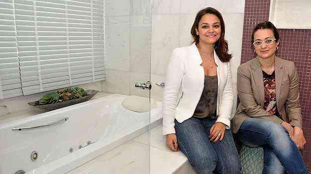 Especialistas recomendam decoração personalizada para criar o clima agradável dentro das salas de banho - Eduardo Almeida/RA Studio