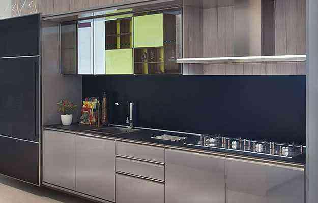 Portas de correr externas podem deixar a cozinha totalmente oculta quando o usuário achar necessário - Exata Comunicação/Divulgação