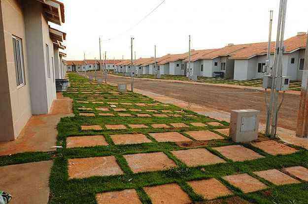 Caixa Econômica Federal estima que o Brasil tem a possibilidade real de zerar o déficit habitacional no prazo de dez anos - Iano Andrade/CB/D.A Press