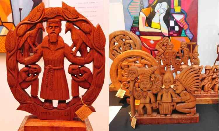 Obra do célebre artista GTO é passada de pai para filho - Gladyston Rodrigues/EM/D.A Press