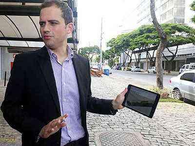 Secretário Leonardo Castro: Avenida Alberto Cintra, no União, terá projeto - Jair Amaral/EM/D.A Press