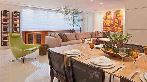 A arquiteta Marina Dubal preferiu usar persianas para dar mais conforto aos moradores - Henrique Queiroga/Divulgação