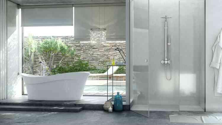 Algumas espécies se adaptam bem em banheiros, mas é preciso que o ambiente tenha uma boa luminosidade e janelas e que os vasos sejam colocados próximo a elas - Doka/Divulgação