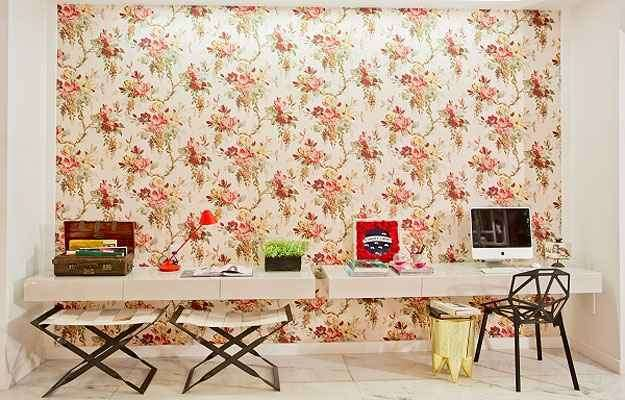 Os detalhes fazem a diferença no ambiente da arquiteta Marcela Passamani, que usou tons pastéis e mais vivos para colorir um estúdio na Casa Cor - Clausem Bonifácio/Divulgação