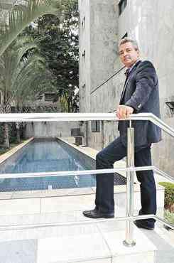 Segundo Luiz Antônio Rodrigues, da Lar Imóveis, área de lazer em empreendimentos de luxo pode encarecer a unidade em até 40% - Cristina Horta/EM/D.A Press