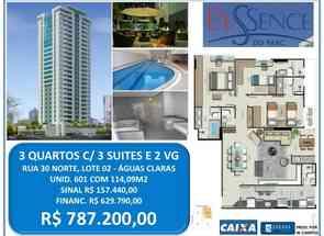 Apartamento, 3 Quartos, 3 Suites em Águas Claras, Águas Claras, DF valor de R$ 787.200,00 no Lugar Certo