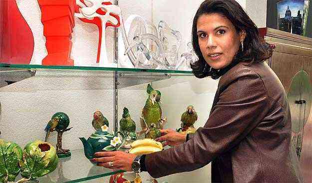 Para Gleice de Almeida, muitas peças são de grande estima para o dono à história - Eduardo Almeida/RA Studio
