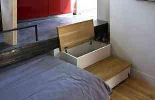 O projeto desse apartamento situado em Paris, na França, foi desenvolvido pelos arquitetos Marc Baillargeon e Julie Nabucet