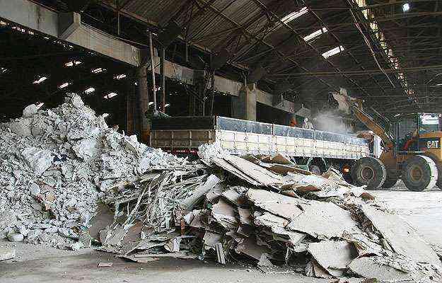 Resíduos de gesso passaram de lixo a matéria-prima para a própria indústria de drywall e outros segmentos  - Associação Brasileira de Drywall/Divulgação
