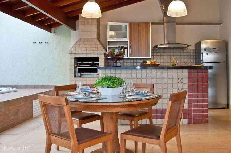 Cozinha gourmet com churrasqueira - Pixabay