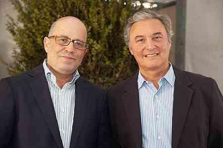 Os organizadores do evento João Grillo e Ernesto Lolato esperam um público de mais de 50 mil pessoas até outubro - Thiago Ventura/Portal Uai/D.A Press