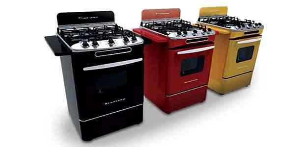 Os fogões contam com funcionalidades modernas, como timer digital e função grill  - Brastemp/Divulgação