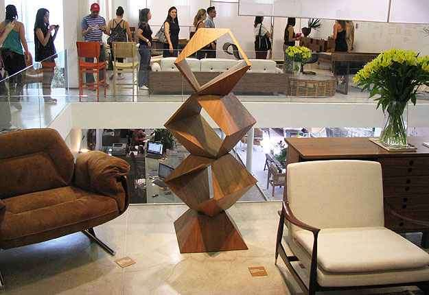 Ícones do design brasileiro foram protagonistas na loja no São Pedro - Joana Gontijo/Portal Uai/D.A Press