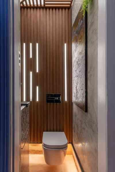 Banheiro Público Masculino: Fabelle Pereira, Lívia Chaves Guerra e Paula Seabra - Ivan Araújo/Fotografia de Arquitetura/Divulgação
