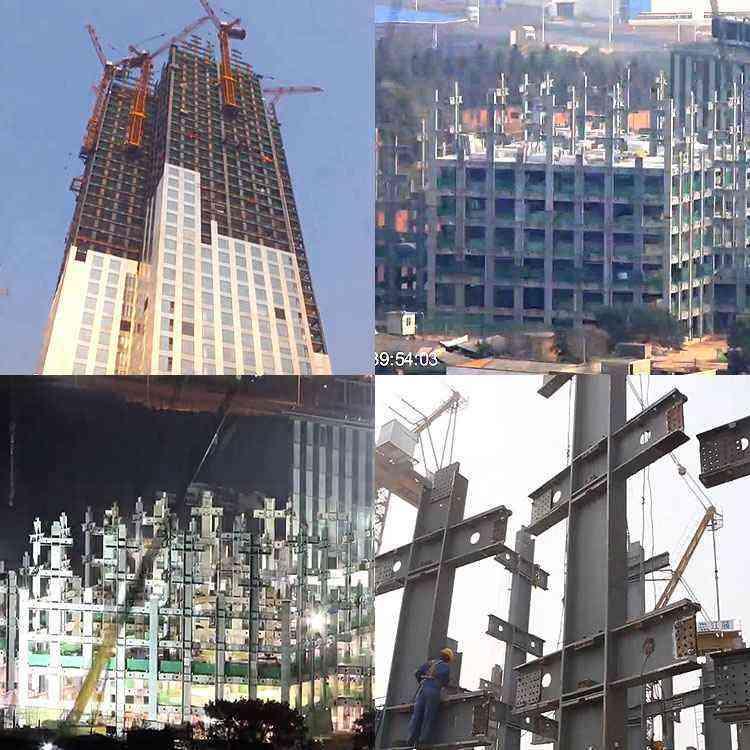 Mini Sky City em construção - Reprodução/Youtube/Mini Sky City