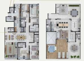 Cobertura, 4 Quartos, 3 Vagas, 4 Suites em Sqnw, Noroeste, Brasília/Plano Piloto, DF valor de R$ 2.900.000,00 no Lugar Certo