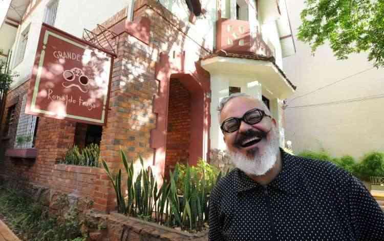 Grande Hotel, do estilista Ronaldo Fraga, funciona em uma casa tombada pelo patrimônio - Leandro Couri/EM/D.A Press