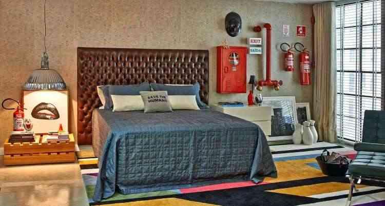 A cabeceira de cama é um dos destaques do uso do capitonê na decoração  - Jomar Bragança/Divulgação