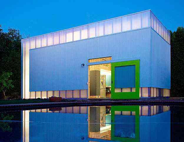 Informal House por Koning Eizenberg Architecture - Divulgação/AIA