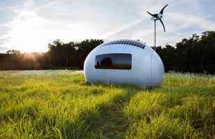 Casa capsular móvel e autônoma surpreende pelo leiaute moderno e artefatos ecológicos