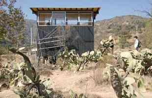 Projeto chileno sugere como viver bem em um local pequeno, e no meio da natureza