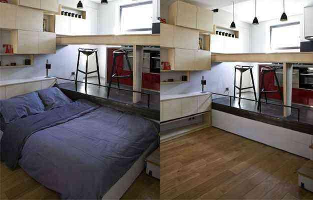 Apartamento de 16 metros quadrados em Paris, na França - Divulgação