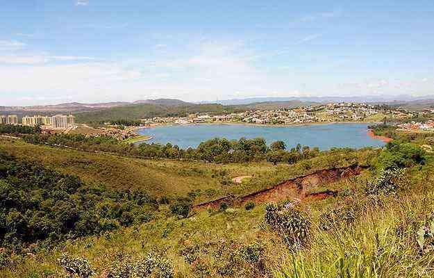 Terreno de 27 milhões de m² na Lagoa Ingleses pretende abrigar projeto urbanístico inovador - Beto Novaes/EM/D.A Press