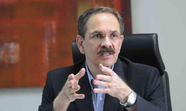 Daniel Furletti, coordenador sindical do Sindicato da Indústria da Construção Civil no Estado de Minas Gerais (Sinduscon-MG) - Gladyston Rodrigues/EM/D.A Press