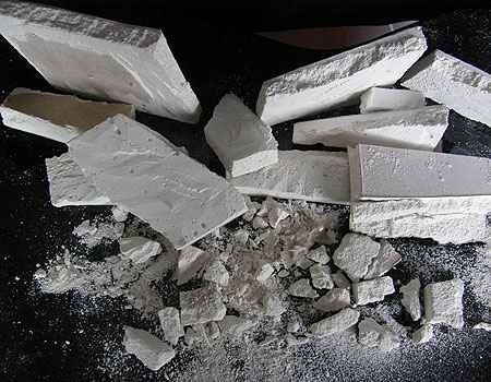 Foto mostra restos de material que podem ser reciclados - Associação Brasileira de Drywall/Divulgação
