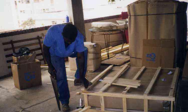 Engradamento de móveis é fundamental para proteção do que for transportado - Utilar Mudanças/Divulgação