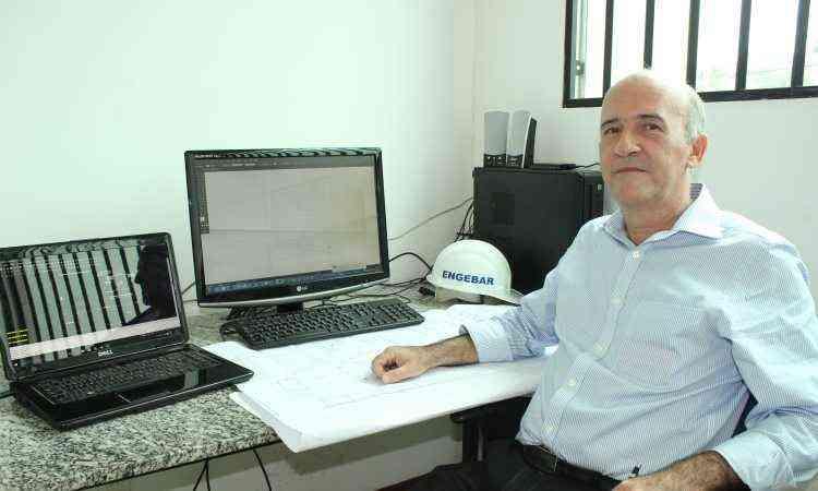 Décio Barcelos, da Engebar, aconselha a pessoa física e jurídica a investir em equipamentos de segurança - Arquivo pessoal