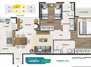 Apartamento, 2 Quartos, 1 Vaga, 1 Suite em Rua das Carnaúbas, Norte, Águas Claras, DF valor de R$ 539.000,00 no Lugar Certo