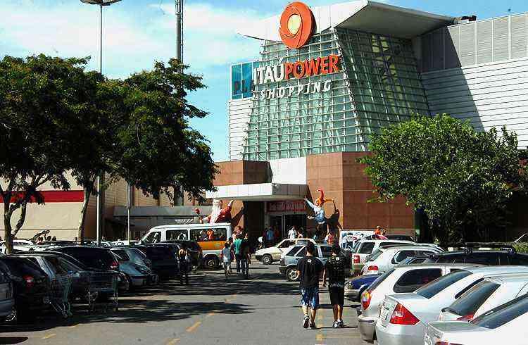 Itaú Power Shopping é hoje o principal centro de compras da cidade - Jackson Romanelli/EM/D.A Press - 12/12/09
