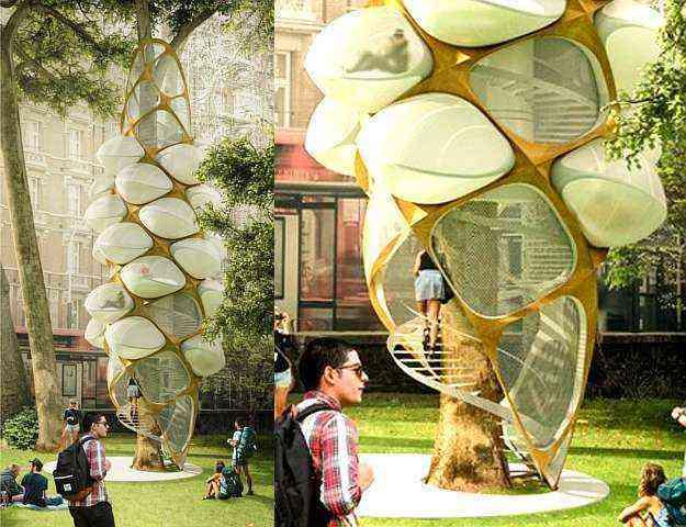 1º lugar: Tree Hopper - Triumph Architectural Treehouse Award/Divulgação