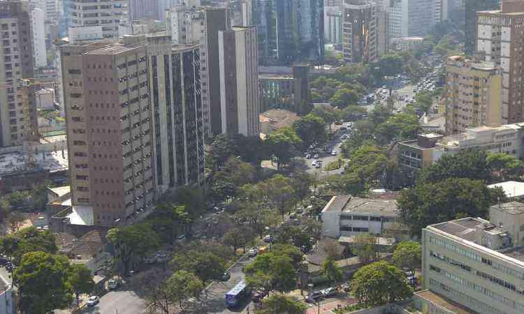 Funcionários tem o metro quadrado mais caro de BH - Gladyston Rodrigues/EM/D.A Press - 6/7/2012