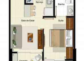 Apartamento, 1 Quarto, 1 Vaga, 1 Suite em Rua 19 Norte, Norte, Águas Claras, DF valor de R$ 220.000,00 no Lugar Certo