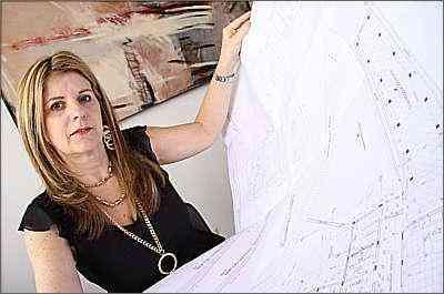 Para Laura Rabe, presidente da Associação Mineira de Decoradores de Nível Superior, o designer deve estar incessantemente à procura de inovações, soluções e materiais em todos os cantos - Gladyston Rodrigues/Ao Cubo Filmes