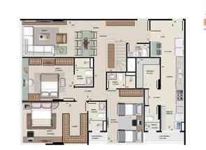 Cobertura, 3 Quartos, 2 Vagas, 3 Suites em Sqnw 108 Bloco H, Noroeste, Brasília/Plano Piloto, DF valor de R$ 2.556.000,00 no Lugar Certo