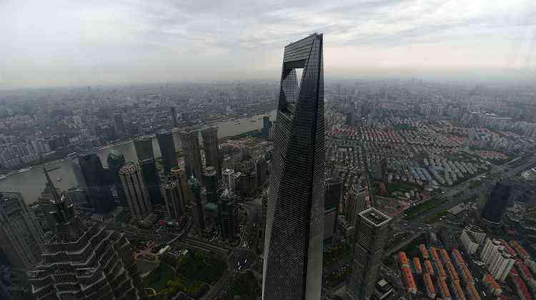Shangai World Financial Center, em Xangai, na China - JOHANNES EISELE/AFp