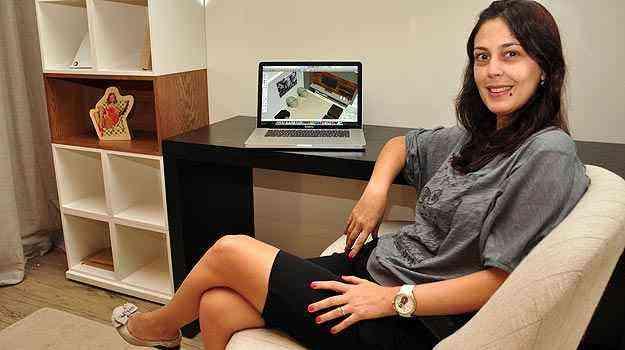 O aumento da renda da classe C tem estimulado a procura por contratação de serviços especializados para decoração, segundo a designer de interiores Ana Karina Chaves - Eduardo Almeida/RA Studio