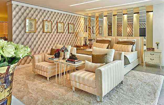 O papel de parede 3D é uma das novidades no mercado e agrega valor aos ambientes, como mostram nesta proposta Ana Claudia e Ana Paula Nonato - Jomar Bragança/Divulgação