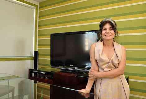 Pinceladas de bom gosto ajudam imprimir originalidade no lar, segundo a designer de ambientes Ednei Aquino  - Eduardo Almeida/RA Studio